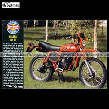 #TP Fiche Moto GILERA 80 TT (TOUT-TERRAIN, MOTO CROSS)