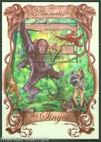 GUINEA  2013 THE ANIMALS  MONKEY  SOUVENIR SHEET MINT NH