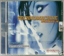 Technomachine Family (2005) CD NUOVO SIGILLATO Bart Spinelli Loris Tosin DJnitro