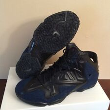 Nike Lebron 11 Ext Denim Exclusive QS Limited Sz 11 ON HAND- DS