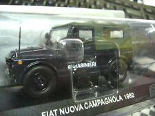 FIAT Nuova Campagnola 4x4 1962 Carabinieri Polizei Police 1962 Sonderpreis 1:43
