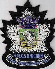 Canada Royal Canadian Navy HMCS Unicorn Canadian Reserve Division SK 4.5 X 3.5