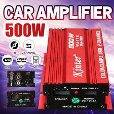 Kinter 500W Mini HiFi Verstärker Auto Stereo Audio Amp MP3-Player USB SD 12V