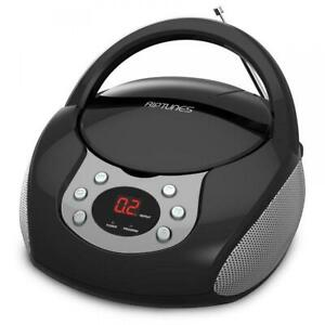 #1 Electronics Portable CD Player with AM/FM Stereo Radio