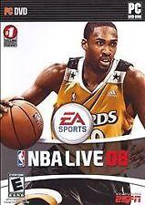 Video Game PC EA Sports NBA Live 08 Basketball NEW SEALED BOX