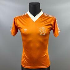 NEDERLAND HOLLAND 1985/1987 HOME FOOTBALL SOCCER SHIRT JERSEY ADIDAS SIZE XS