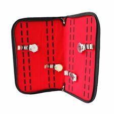 20Slots/Grids Leather Watch Case Display Storage Box Tray Jewelry Organizer