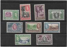 BRITISH HONDURAS 1938 PICTORIALS/DEFINITIVE SET TO  50 Cents SG.150-158 MLH