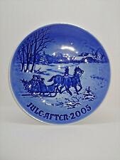 "Bing and Grondahl, 2005 Christmas plate ""Bringing home the Christmas Tree"""