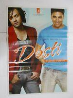 DOSTI 2005 AKSHAY KUMAR BOBBY DEOL LARA KAREENA   Rare Poster Bollywood