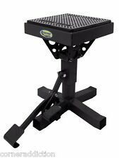 P-12 Adjustable Lift Stand BLACK  92-4012 For 50cc-650cc Motorcycle Dirtbike