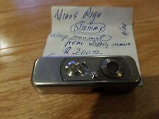 Minox Riga Subminature Spy Camera Dummy