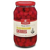 SANDHURST ITALIAN MARASCHINO CHERRIES 1.9 Kg - LONGER SHELF LIFE-QUICK POST