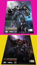 2 TRANSFORMERS FALL OF CYBERTRON sdcc 2012 HASBRO Exclusive Original POSTER rare