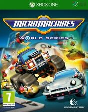 Micro Machines World Series Xbox One * NEW SEALED PAL *