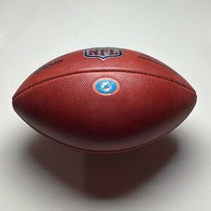 2020 Miami Dolphins Game Ball - Wilson The Duke NFL Football - Tua Tagovailoa
