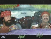 CHEECH & CHONG SIGNED AUTOGRAPH 11X14 PHOTO BECKETT BAS COA 14