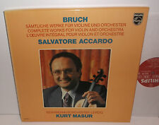 6768 065 Bruch Complete Works For Violin And Orchestra Salvatore Accardo 4LP