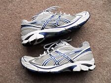 Asics GT-2160 T157N Silver/White/Blue Running/Training Shoes - Size 7 US