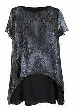 Evans Polyester Plus Size Stretch Tops & Shirts for Women