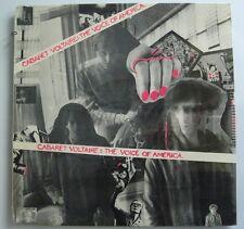 CABARET VOLTAIRE The Voice Of America ORG US LP 1981 ROUGH US 9 Rare SEALED