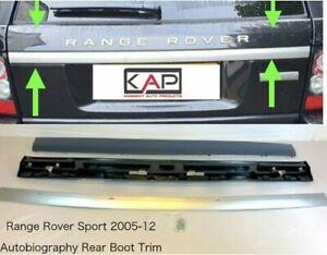 Autobiography Style Hayon Arrière Bordure Spoiler Kit Pour : RR Sport 2005-12