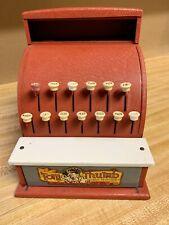Toy Cash Register Metal Cash Register Childrens Tin Toys Happi Time Tom Thumb Cash Register