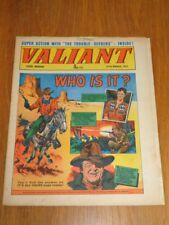 VALIANT 27TH MARCH 1971 FLEETWAY BRITISH WEEKLY COMIC*