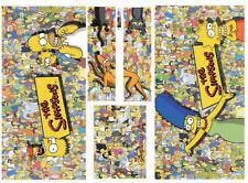 The Simpsons Pinball Party Pinball Machine Cabinet Decals - NEXT GEN