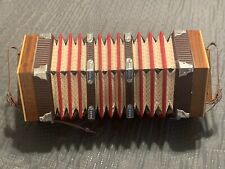Vintage Renelli Concertina Made In Italy 20 Button