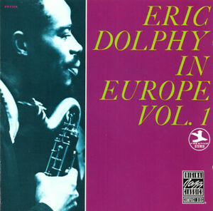 Eric Dolphy In Europe, Vol. 1 (1990) NEW CD