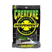 "CREATURE x Independent CSFU 1"" Phillips Genuine Parts Skateboard Hardware"