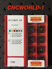 20 PCS SANDVIK R290-12T308M-PM 4240 , 2 BOX ! MADE IN SWEDEN !!!!!!!!!!!!!