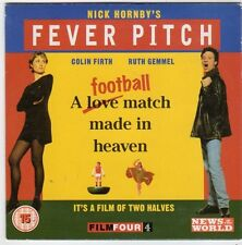 (FI535) Nick Hornby's Fever Pitch - News of the World DVD