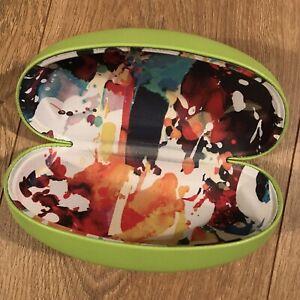 Robert Graham Green Watercolor Hard Shell Eye Glass Sunglasses Glasses Case