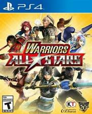 New listing Warriors All-Stars (Sony PlayStation 4, 2017) *New,Sealed*