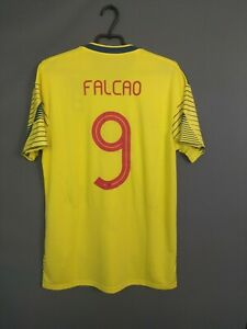 Falcao Colombia Jersey 2018 2019 Home LARGE Shirt Soccer Adidas DN6619 ig93