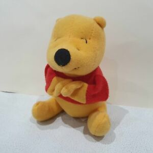 Winnie The Pooh Finger Puppet Soft Toy rare o
