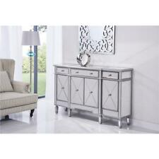 MIRRORED LIVING DINING ROOM BEDROOM BUFFET TABLE FOYER CABINET DRAWERS SIDEBOARD