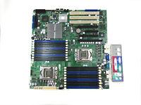 X8DTN Supermicro Dual Intel Xeon LGA1366 E-EATX Server Motherboard w/ IO Plate