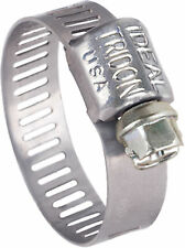 Stainless Steel Hose Clamp, #4 x 5/8in - 10-Pack