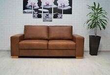 Echtleder 2,5 Sitzer Sofa 190 cm Echt Leder Couch Ledersofa Rindsleder Volleder