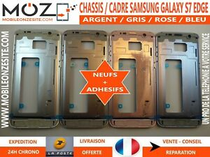 CHASSIS / CADRE NEUF CENTRAL (FRAME) METALLIQUE POUR SAMSUNG GALAXY S7 EDGE G935