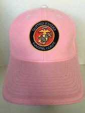 Marines Pink Hat Marine USMC Cap Wife Daughter Girlfried Sister