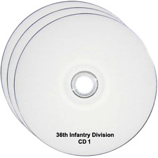 36th Infantry Division WW2 INFO, FILES, REPORTS, BOOKS, NARRATIVE, HISTORY 3CDs