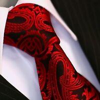 BINDER de LUXE Krawatte Krawatten Schlips Tie Necktie 139 rot