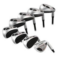 "Men's Powerbilt Golf EX-550 Hybrid Iron Set (4-SW) Regular ""R"" Flex Rescue Clubs"