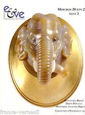 Catalogue de vente Belle Collection de Camees & Intalles Objets de vitrine Russe