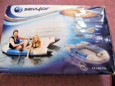 New SEVYLOR (a Coleman Company) COLOSSUS  2-Person Inflatable Boat with Oars