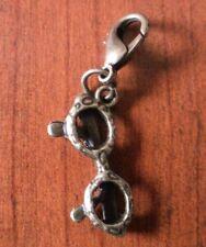 charm's breloque mousqueton lunette couleur bronze